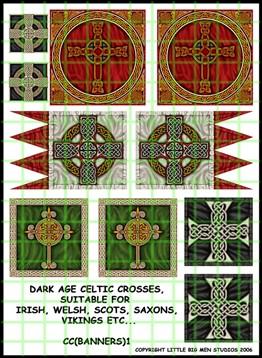 Irish banners