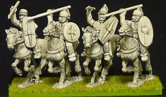 28mm Celt & Gaul Unarmoured Cavalry Mixed Weapons.