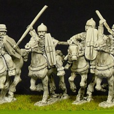 28mm Celt or Gallic Noble Cavalry with Mixed Weapons