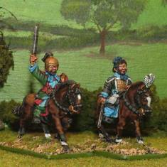 28mm warring states chinese Mounted Generals.