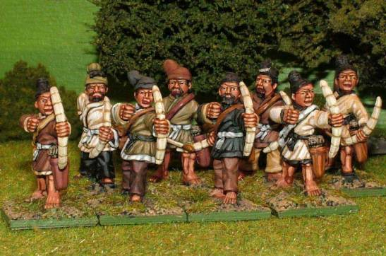 CH19 Peasant levy archers.