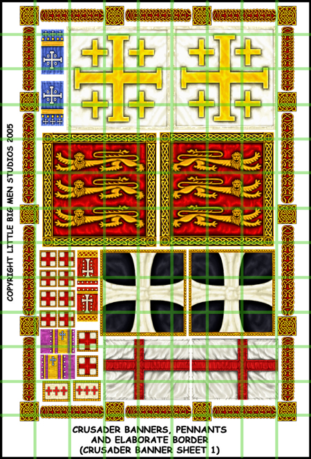 Crusader banners 1