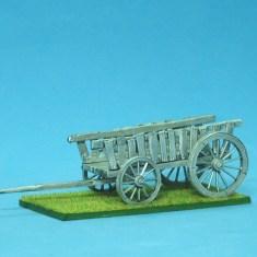 Colonial supply wagon