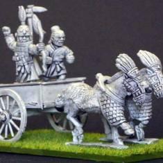 EC13a Shang 2 horse chariot. .