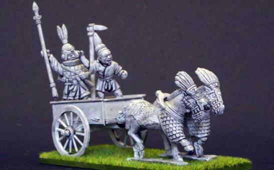 EC13c Shang 2 horse chariot.