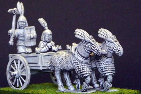 EC14b Zhou 2 horse chariot.