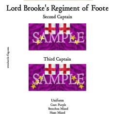 ECW/PAR/016 (B) Lord Brooke's Regiment of Foote