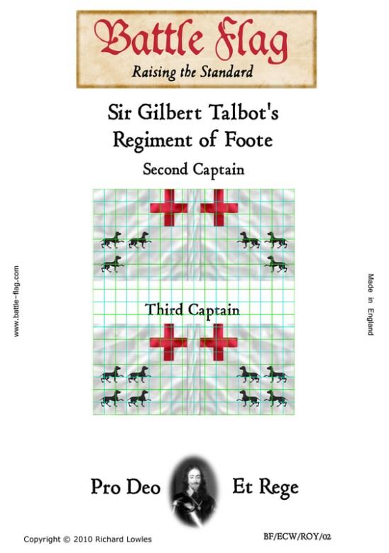 ECWROY028 Sir Gilbert Talbot's Regiment of Foote