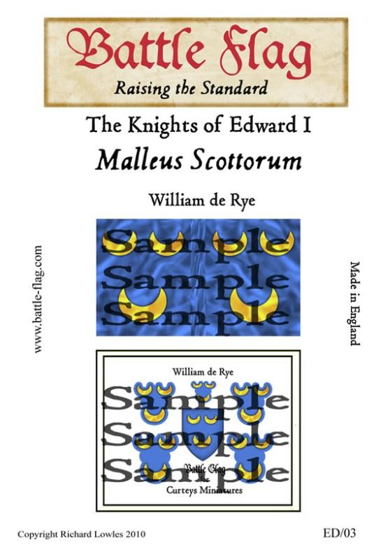 EDI-03 William de Rye