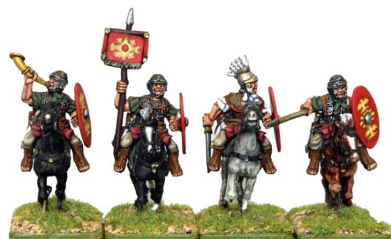 Auxilia cavalry Command