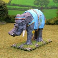 28mm ancient indian elephant EL, A. Indian Elephant