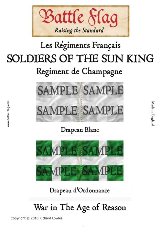 Frii: Regiment de Champagne