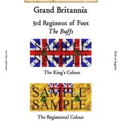 GB3: 3rd Regiment of Foot