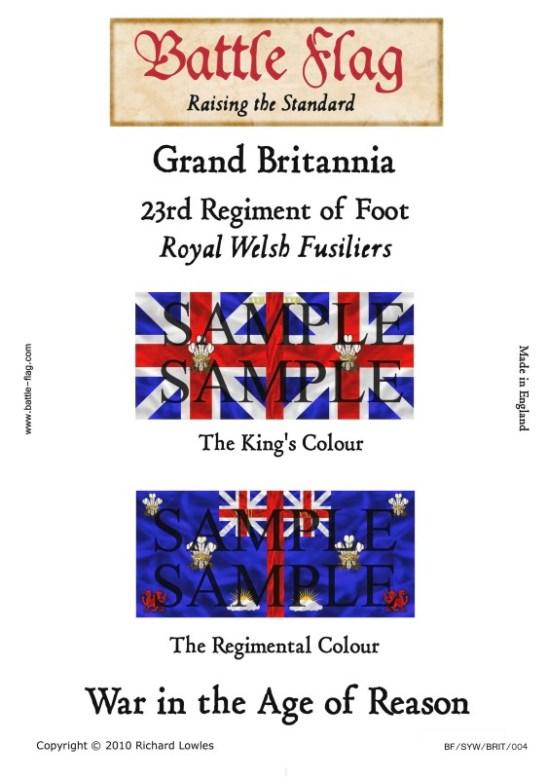 GB4: 23rd Regiment of Foot