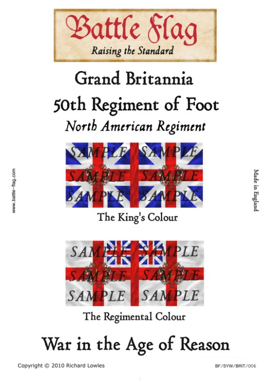 GB6: 50th Regiment of Foot