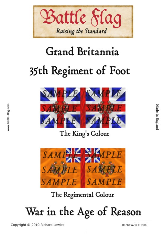 GB9: 35th Regiment of Foot