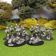 28mm ww2 british infantry section