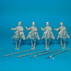 HN07 Cavalry with halberds.