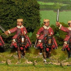28mm Han Cavalry with swords.
