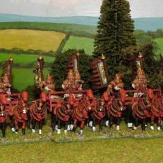 HNP05 3, 4 horse chariots.