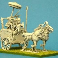 Ancient Indian Light Chariot Command