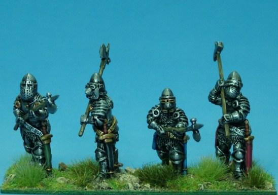 Dismounted knights II