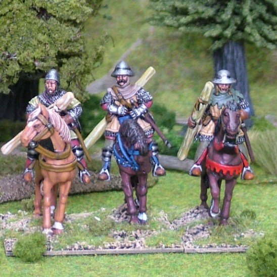 Mounted longbowmen