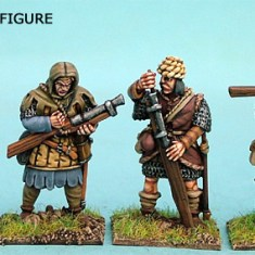 28mm late medieval hussite Hand Gunners III