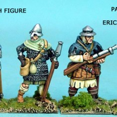 28mm late medieval hussite Hand Gunners IV