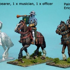 Mounted Knights Command Unbarded Horses