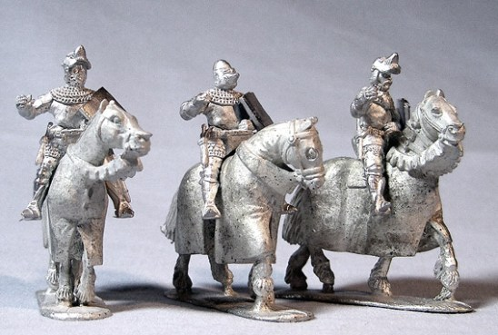 Mounted Knights Barded Horses II