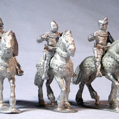 Mounted Knights Unbarded Horses II