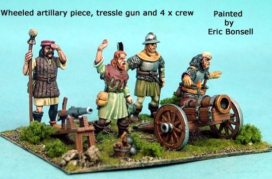 Artillery Gun, Trestle Gun and 4 Crew