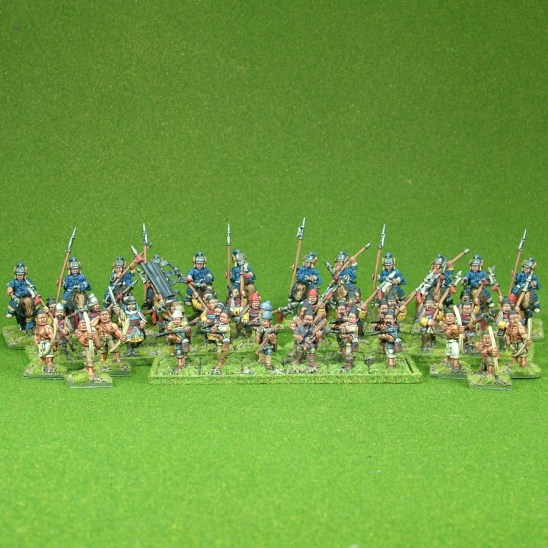 Lion Rampant 24pt Sung Chinese Starter Army