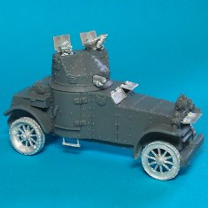 28mm 1/48 laffly white armoured car