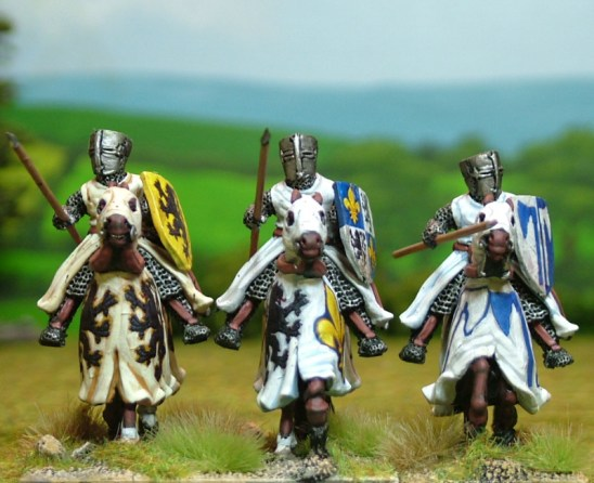 ME02a Mounted Knights/Sergeants