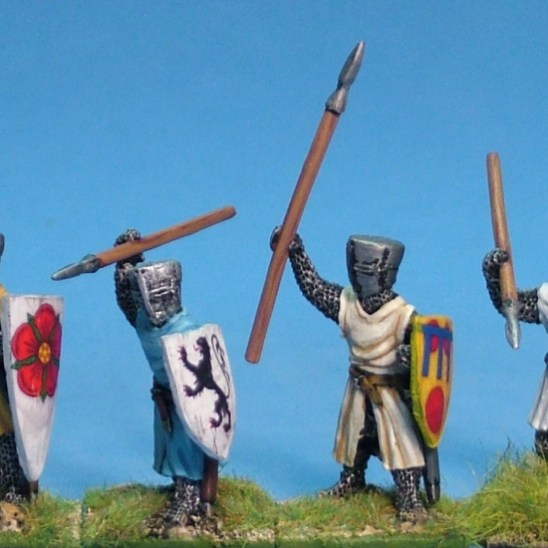 ME23 Foot knights with spears 1.