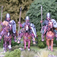 Turcopoles with spear.