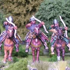 Turcopole archers firing