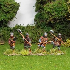 Eastern European 2 handed axe men
