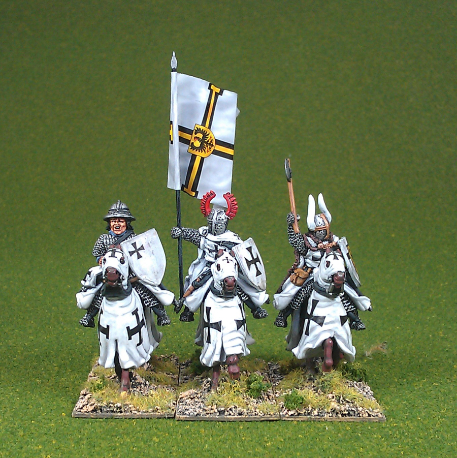MET08 Teutonic Knights Mounted Command.