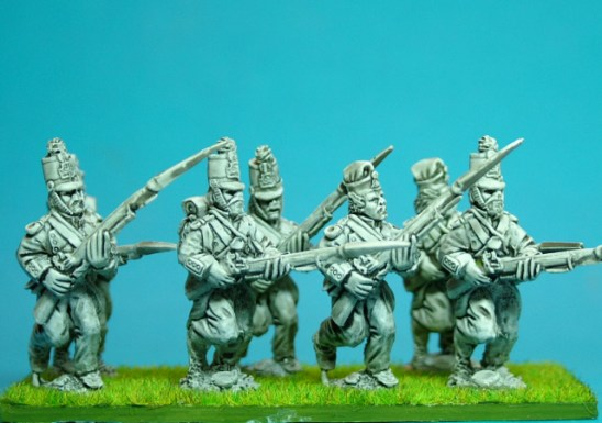 28mm mexican american war Mexican line infantry advancing or charging