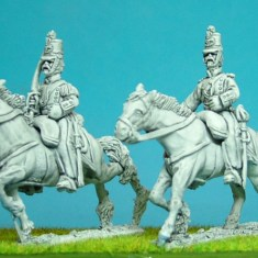 28mm Mexican Line cavalry command