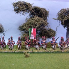 28mm Mexican Line Infantry advancing or charging