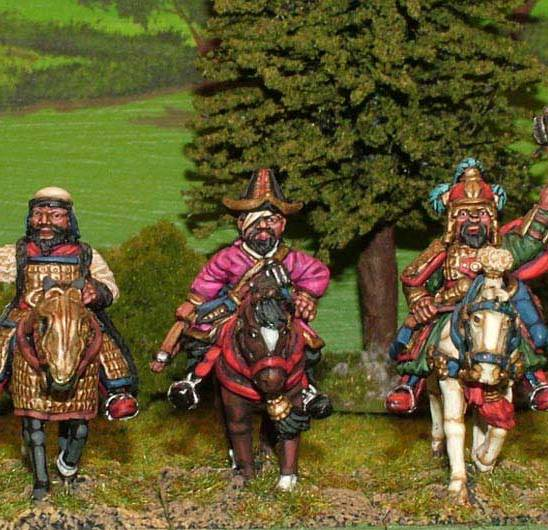 MO01a Great Mongol generals.