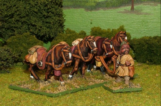 MO09 Horse holders.