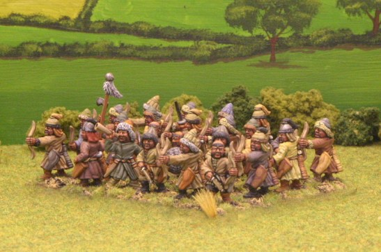 MOU04 Dismounted horse archers.