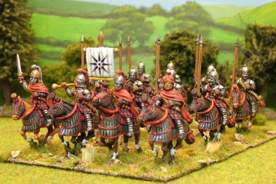 28mm macedonian successor Cataphracts Full Barding x 12