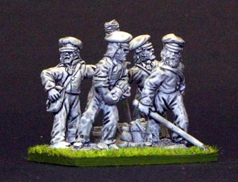 US Gun crew