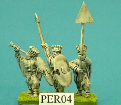 Early Achaeminid Persian Immortal Command